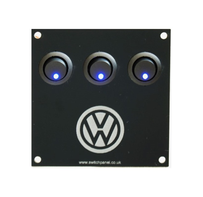 3 wire rocker switch wiring images store > switch panels > vw logo 3 switch panel